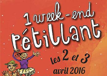 Week-end pétillant printanier, avril 2016