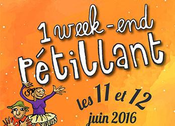 Week-end pétillant printanier, juin 2016