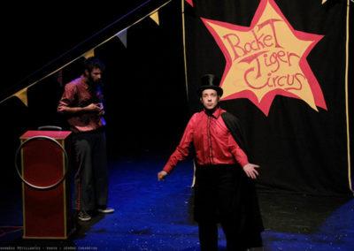 The rocket tiger circus