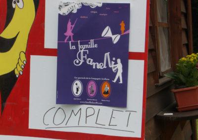 Spectacle La famille Fanelli