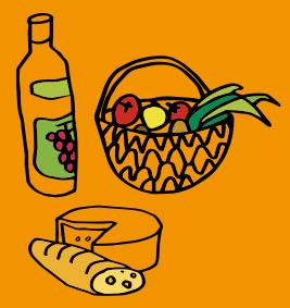 nourriture locale et artisanale