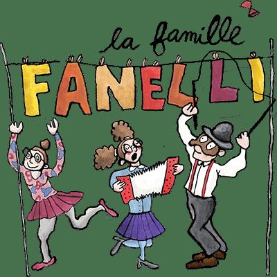 Artiflette spectacle la famille fanelli